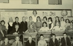 Holmes School 5th gradw Miss Oberg  Row 1: Mike Flock, Hilly Ebling, Rob Marshall, Peter Popov, Todd Robbins, Anthony Mo