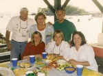 Steve Verses, Lauren Fair, Nancy Verses, Josie Mullen, Tim Potts, Jordy Perry...Pear Tree Point Beach 1999.