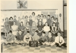 Holmes School Grade 4  Back Row: Dianne Bell,Chris Belden,Dick Costello,Rob Marshall,Barbara Thorne,Kathy ?,Mary Howe,An