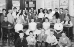 Holmes School Miss Morrier 3rd grade: Row 1: Time Maul, ?, Rob Marshall, Chris Austin, Craig ?. Row 2 Bobbie Shaw, Lisa