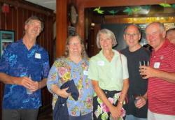 Dave Jefferson, Barb Thorne, Diane Holland,  Dave Lynch, and Casey Nickerson
